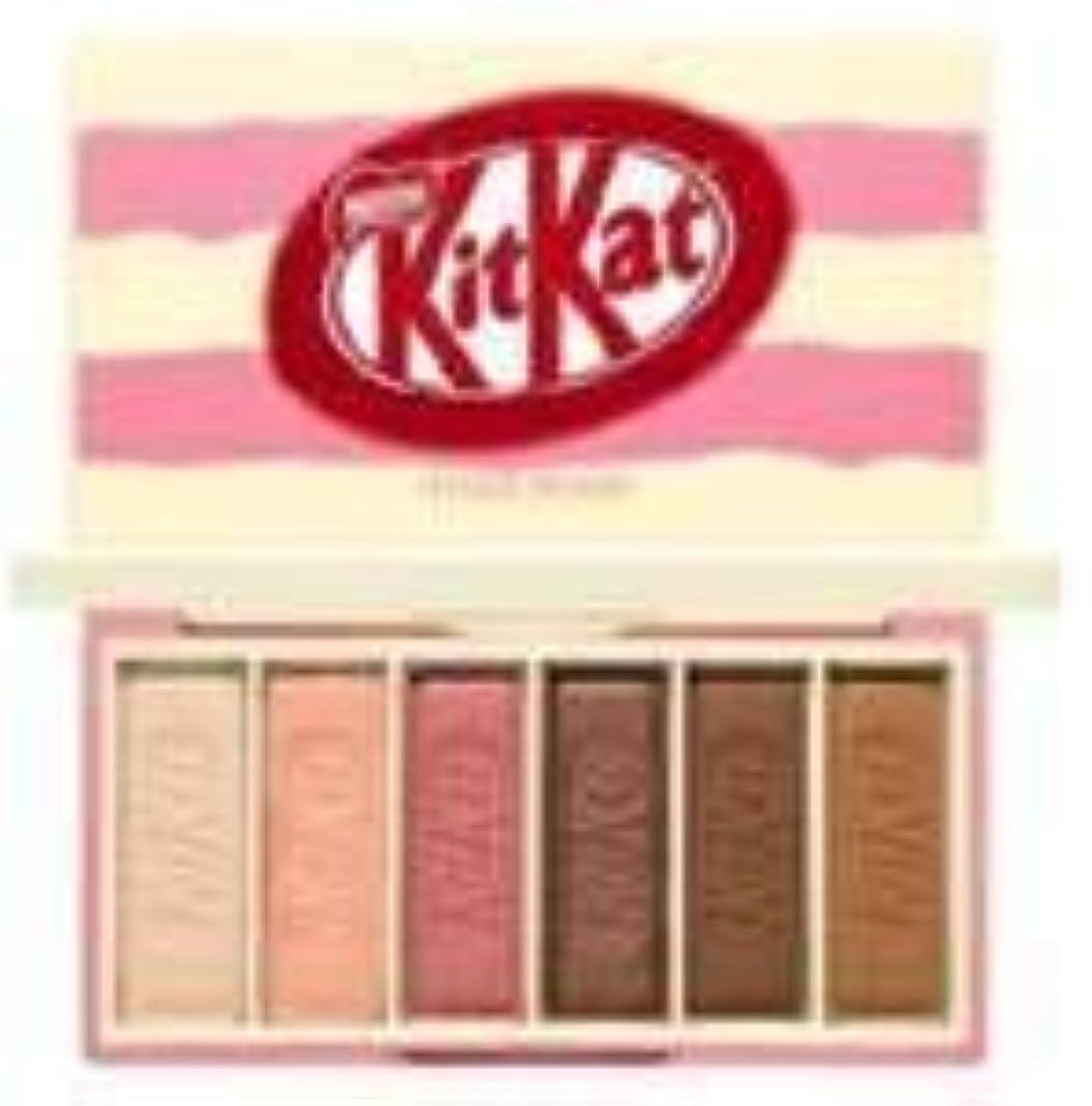 円形ぜいたくしなやかなエチュードハウス キットカット プレイカラー アイズ ミニ キット 1*6g / ETUDE HOUSE KitKat Play Color Eyes Mini Kit #2 KitKat Strawberry Tiramisu...