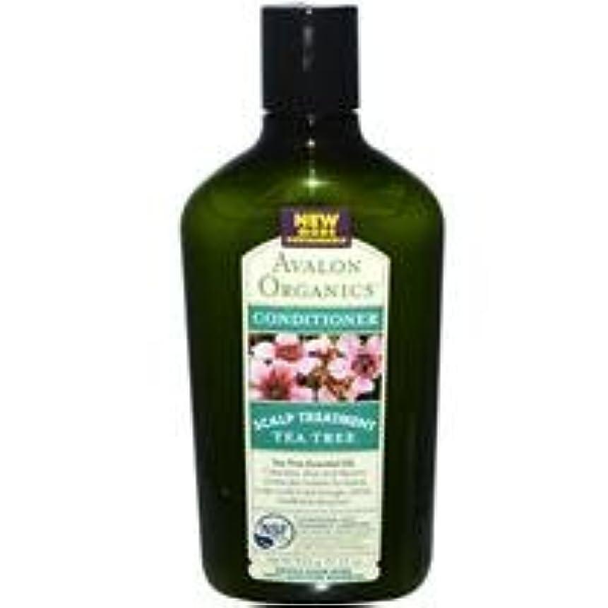 植木受け継ぐビルダー[海外直送品] アバロンオーガニック(Avalon Organics)   ティーツリースカルプ コンディショナー 312g
