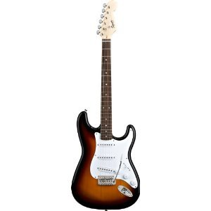 Squier by Fender スクワイア エレキギター Bullet Strat with Tremolo Brown Sunburst 【並行輸入品】