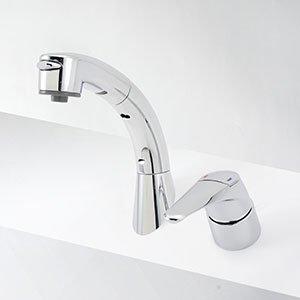 シングルレバー式洗髪シャワー 45度傾斜タイプ KM8019T
