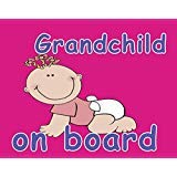 Grandbaby on Board Car Magnet by baby necessity and more