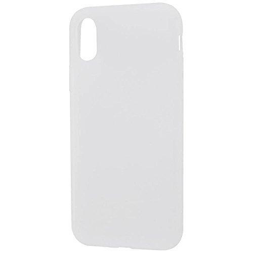 レイ・アウト iPhone XS/X用 シリコンケース シル...