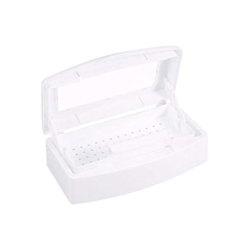 部分的潮ますます殺菌消毒ペディキュアネイルネイルを殺菌ネイル清掃用具の収納ボックス