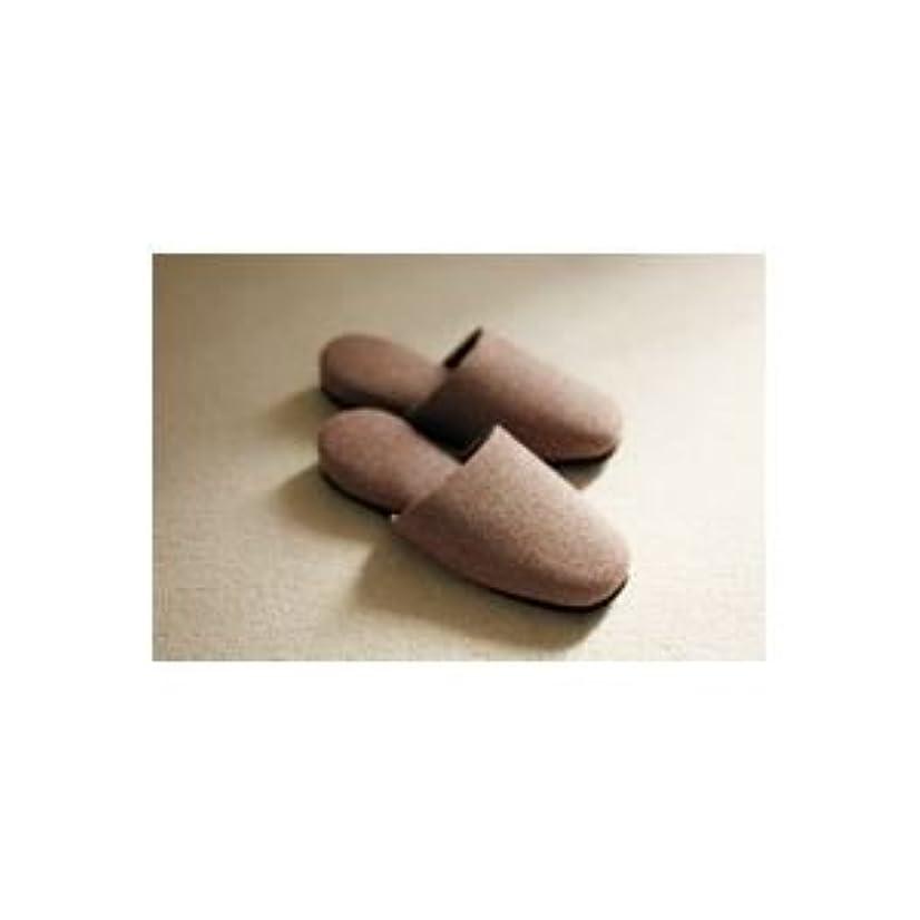 スムーズにモネ固体(業務用3セット)オーミケンシ メランジスリッパ レンガ 5204