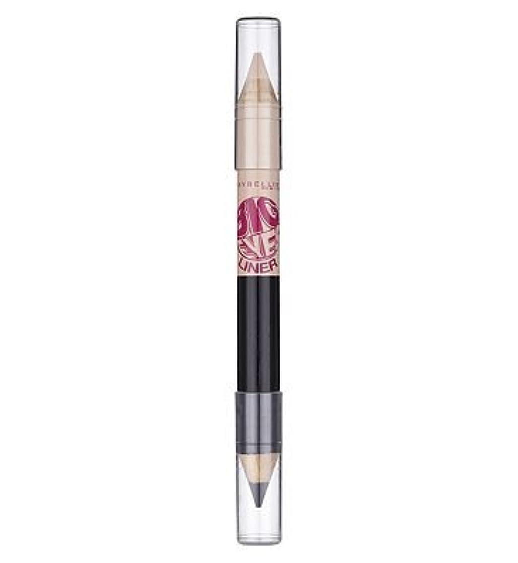 優雅な露出度の高い散歩に行くMaybelline Big Eyes eye liner pencil White Blk white blk