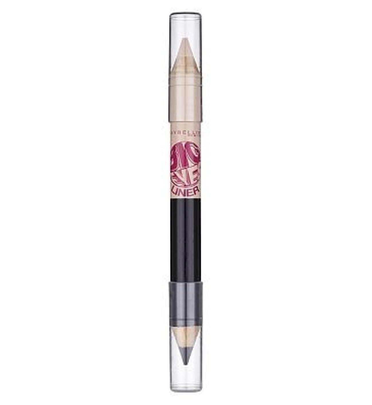 コンチネンタル蒸し器ベルMaybelline Big Eyes eye liner pencil White Blk white blk