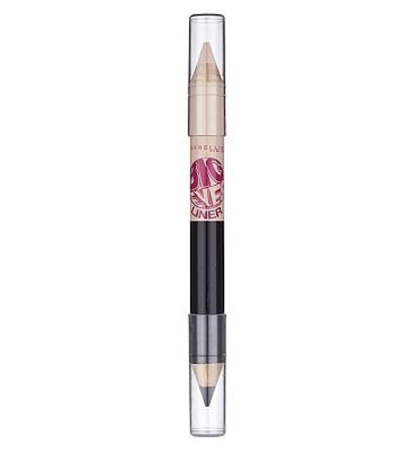印象的つかまえる改善Maybelline Big Eyes eye liner pencil White Blk white blk