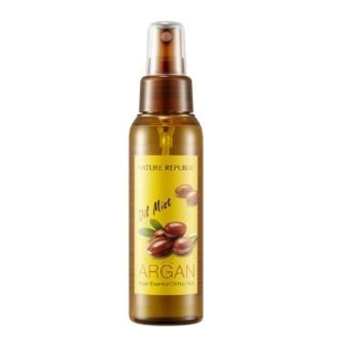 め言葉撤退冷酷なNATURE REPUBLIC Argan Essential Oil Hair Mist 105ml ネイチャーリパブリック アルガンエッセンシャルオイル ヘアミスト [並行輸入品]