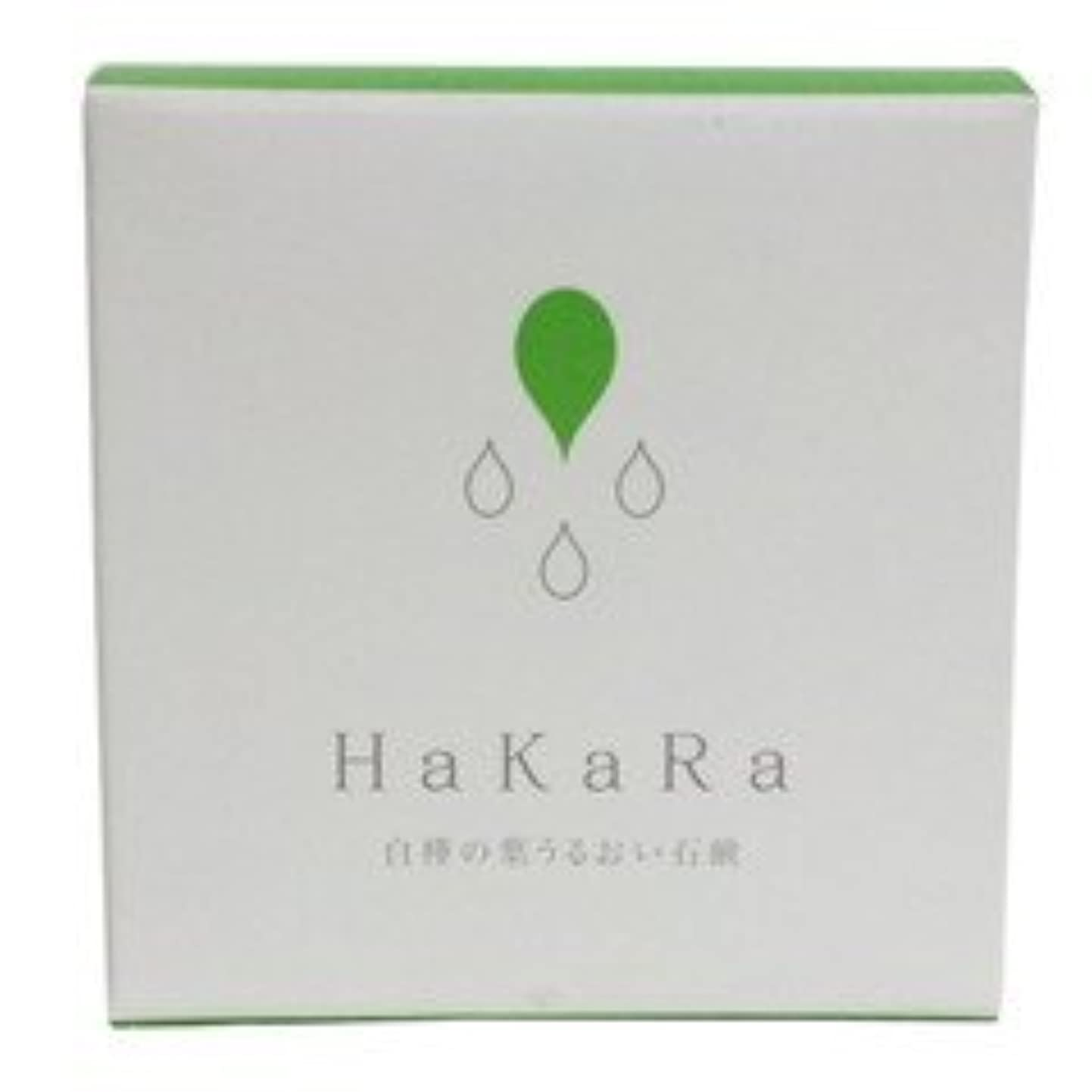定説福祉元気なハカラ化粧石鹸80g
