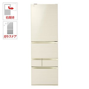 東芝 465L 5ドア冷蔵庫(ラピスアイボリー)【右開き】TOSHIBA GR-M470GW-ZC
