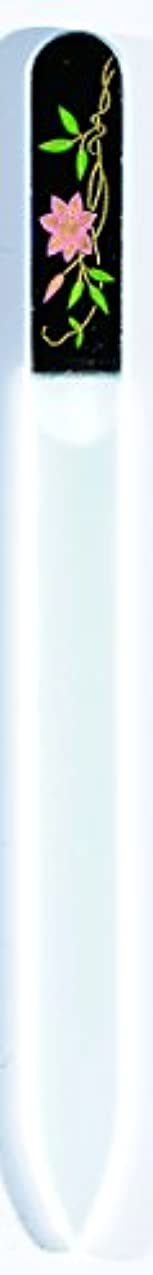百万深さご覧ください橋本漆芸 ブラジェク製高級爪ヤスリ 六月 鉄仙 OPP