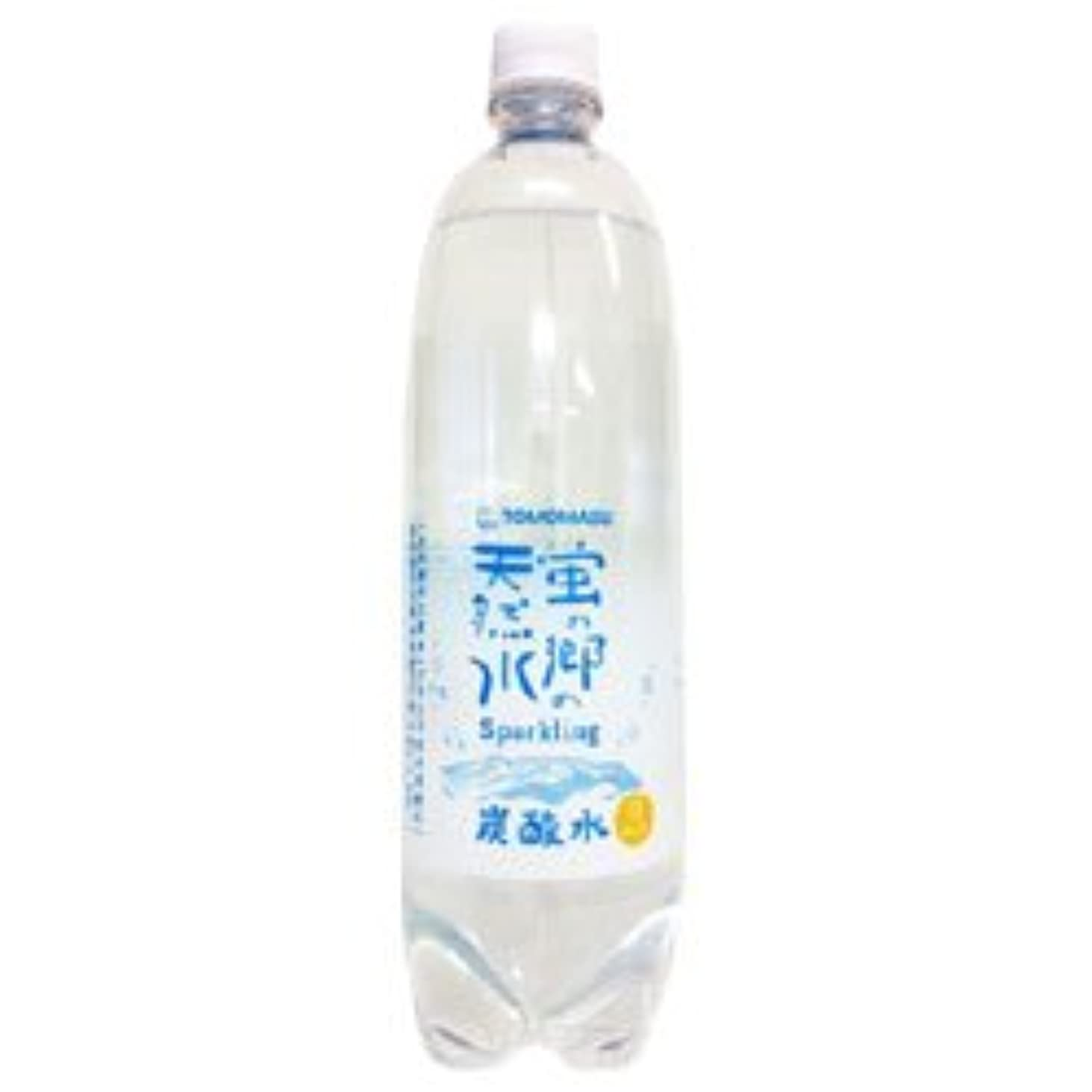 視線進む一般的に言えば友桝飲料 蛍の郷の天然水スパークリング 1Lペット 15本入