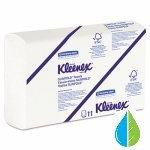 キンバリーProfessional Kleenex Slimfoldホワイトハンドタオル、90枚、24ct