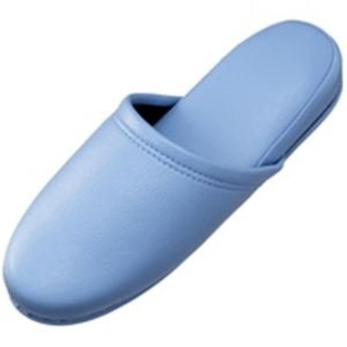 汚れる確認してくださいスプーンジョインテックス スリッパ10足組 ブルー N117J-BL