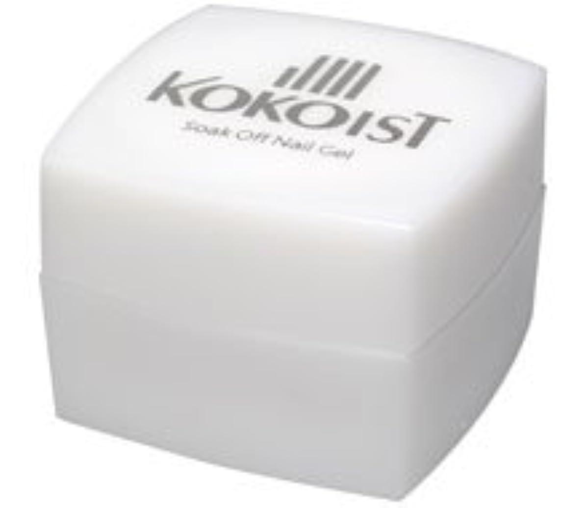 素晴らしさ作り上げる荒廃するKOKOIST(ココイスト) ソークオフ クリアジェル プラチナボンドII 4g