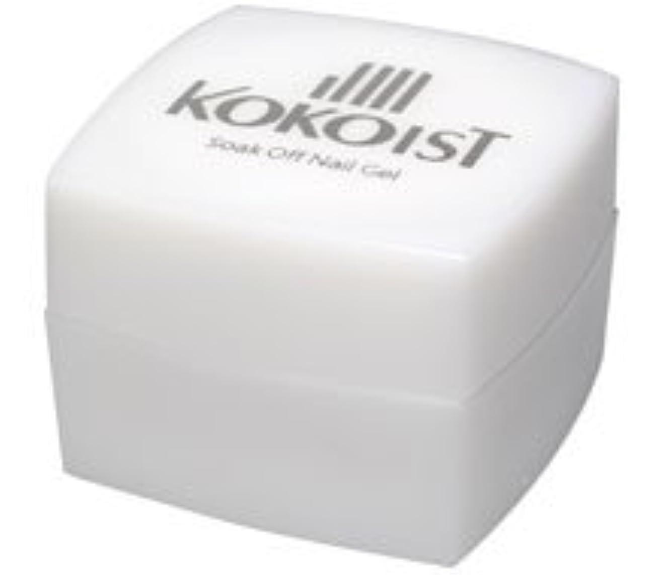 飾り羽北米より平らなKOKOIST(ココイスト) ソークオフ クリアジェル プラチナボンドII 4g