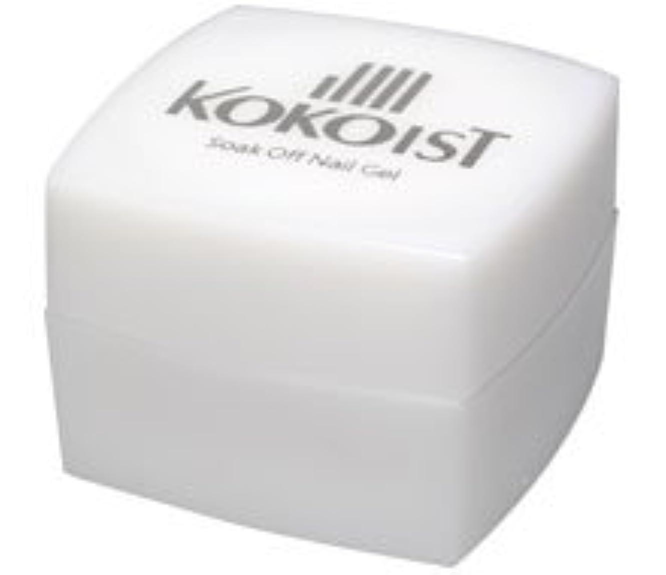 材料不機嫌そうな看板KOKOIST(ココイスト) ソークオフ クリアジェル プラチナボンドII 4g