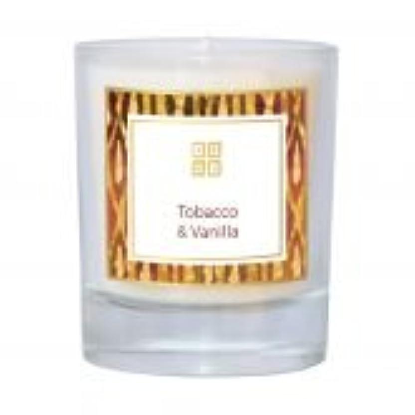 閉じ込めるデータベース家庭Tobacco &バニラ香りのキャンドル 7 oz ホワイト 502-08851