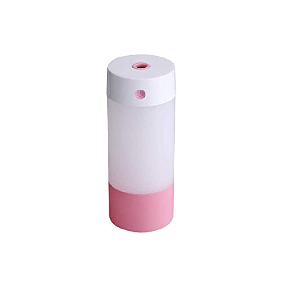 マリナーギャンブル部分的にSOTCE アロマディフューザー加湿器超音波霧化技術が内蔵水位センサーライトカー満足のいく解決策 (Color : Pink)