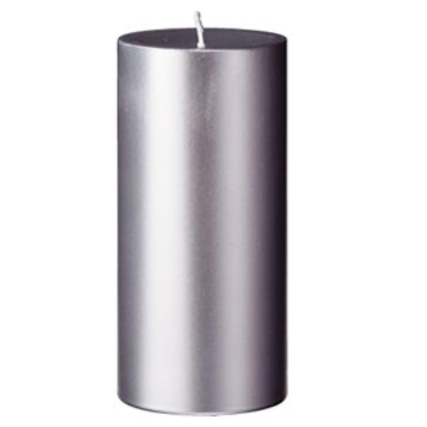 飼料呼吸有効なキャンドル 2?3/4 ×6  ラウンド シルバー