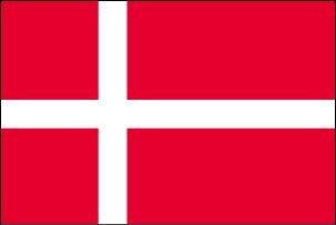 デンマーク国旗[S判・25×37.5cm・テトロン製]安心の日本製