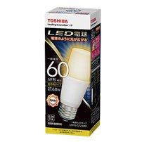 LED電球 E26口金 T形 白熱電球60W形相当 電球色 全方向 TOSH...