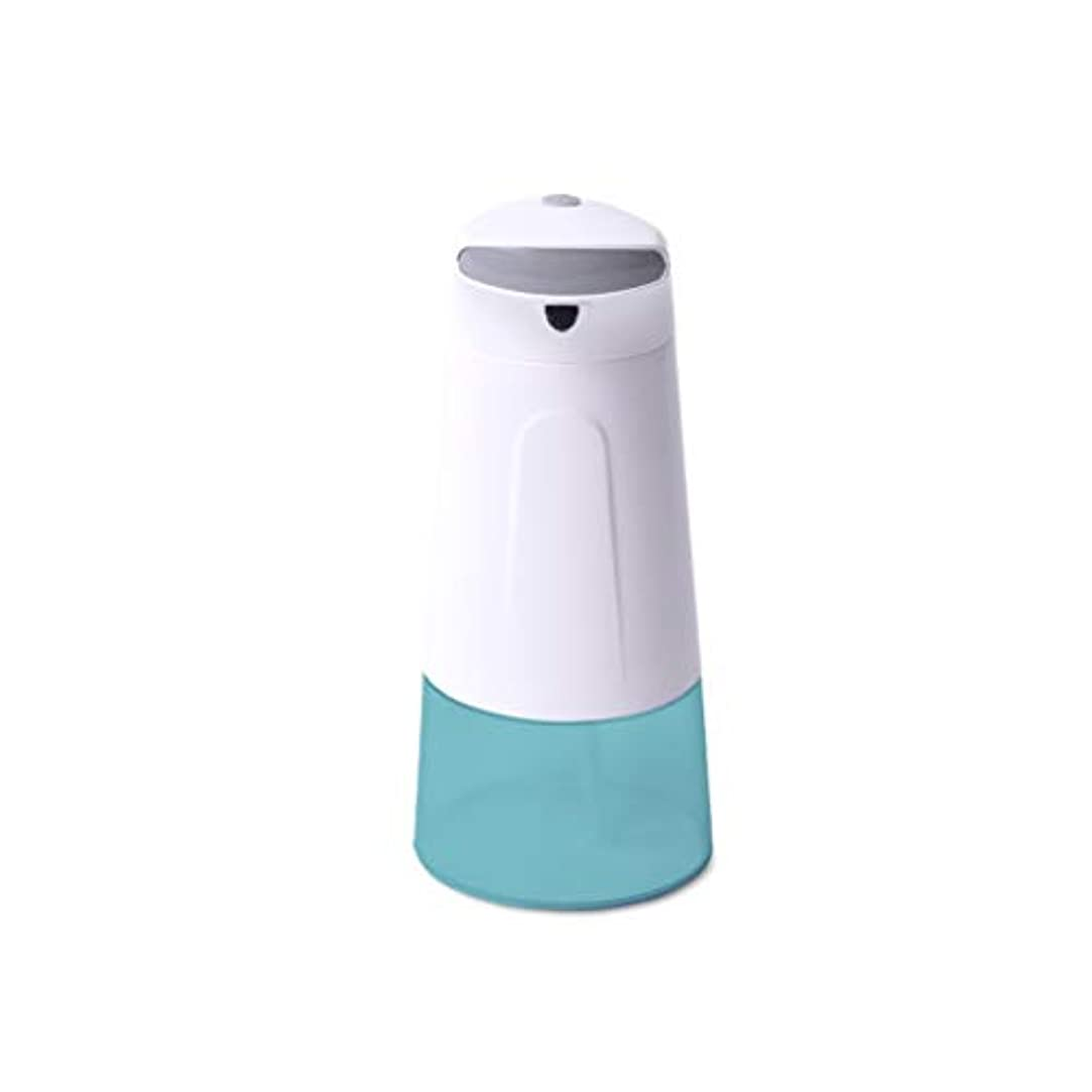 嵐の貪欲差し迫ったせっけん ソープディスペンサー泡センサーソープディスペンサー自動ソープボックス家庭用洗面台液体アウトレットセットバスルームハンドサニタイザーボックスソープ/シャンプー/ローションシャワー 新しい
