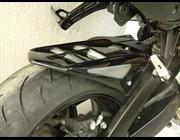 Powerbronze: リア ハガー for SUZUKI B-KING 07-11 (NO CHAIN GUARD) ブラック・シルバー メッシュ 並行輸入品