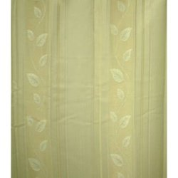 2枚組 ドレープカーテン マイリーフ(100×200cm/アイボリー)