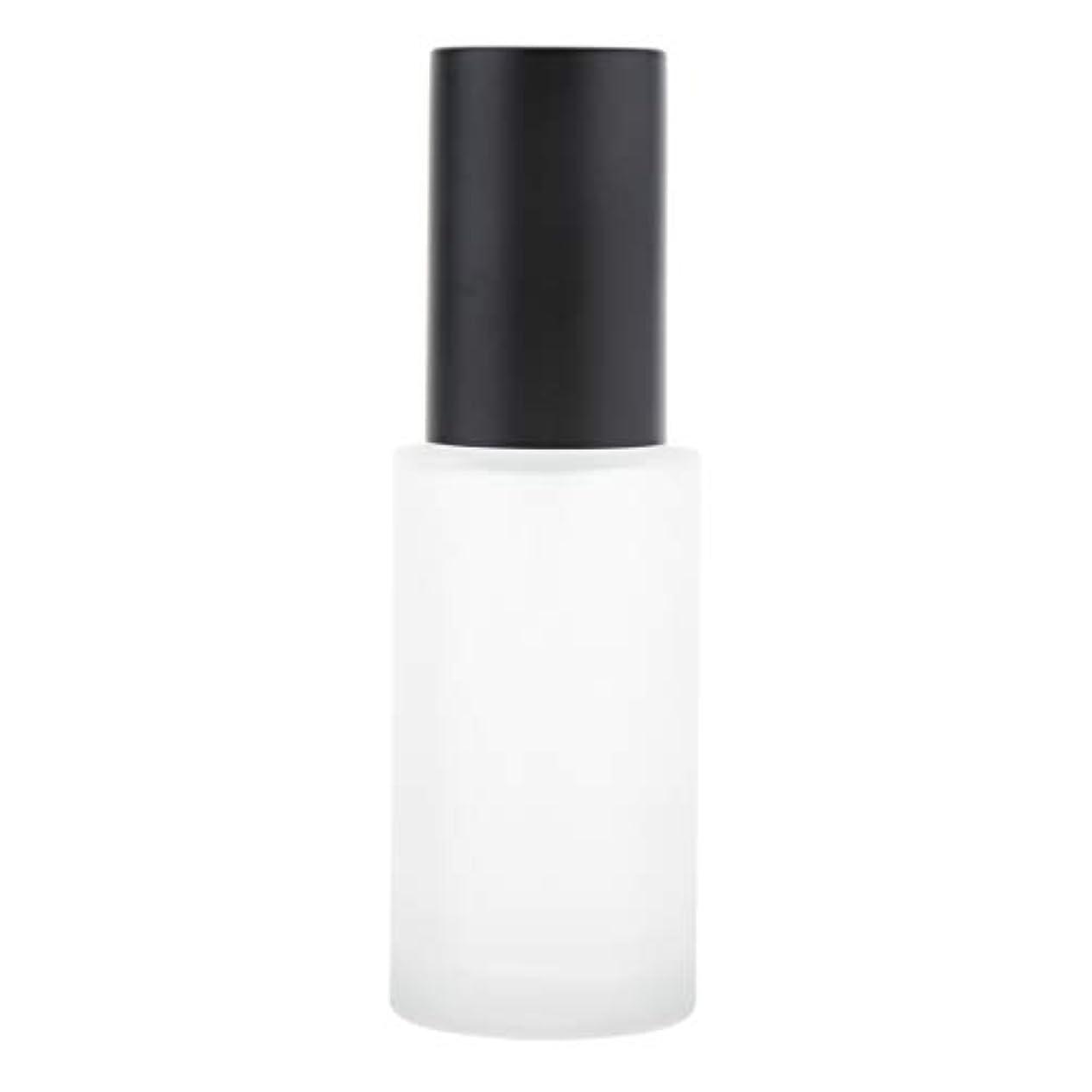 慢ハーブToygogo ポンプボトル ローションボトル ポンプびん 詰め替え式 ガラス 全3種選択でき