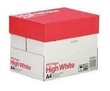 コピー用紙 PPC PAPER High White A4 2500枚(500枚×5冊)