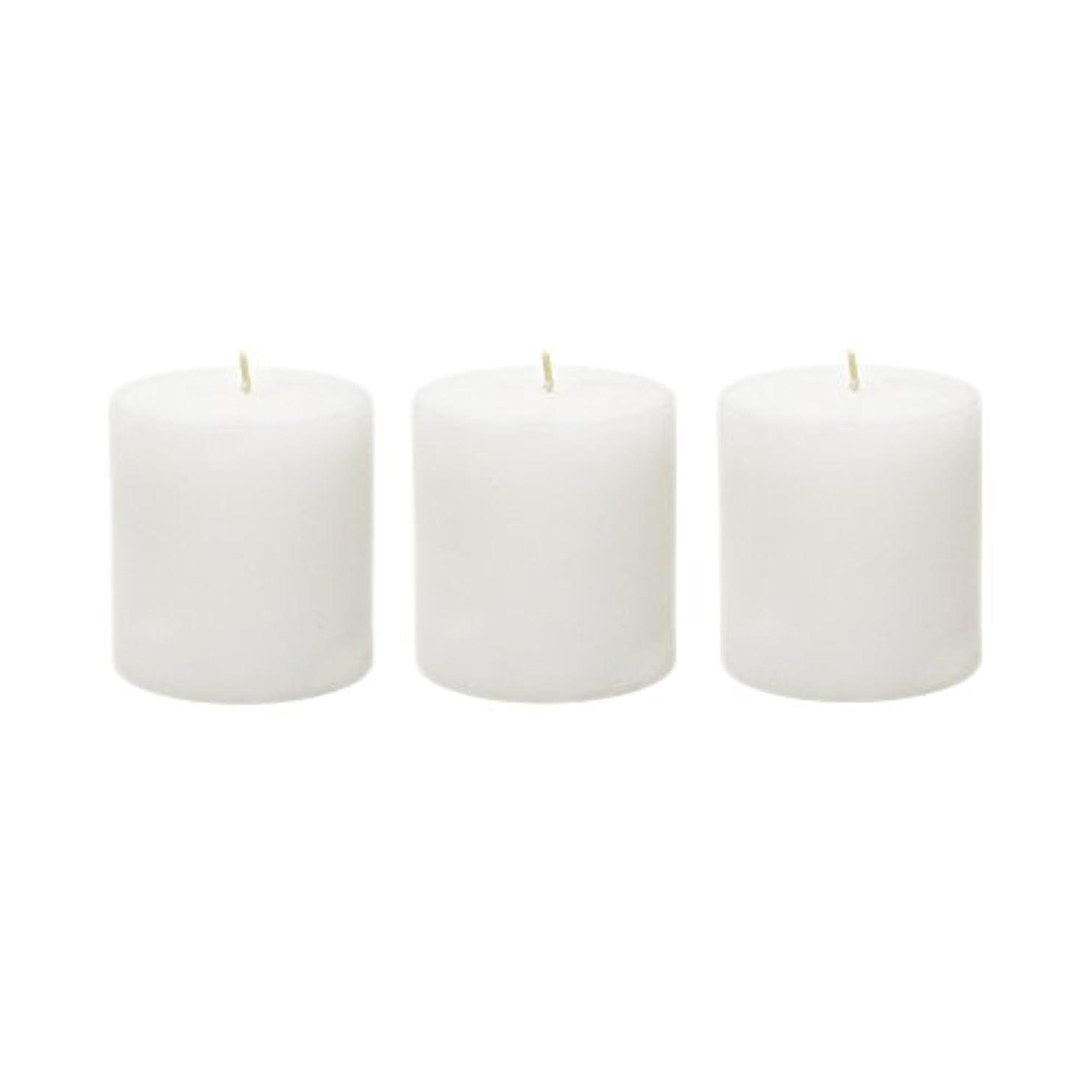 見つける神秘的なサンプル(6, 7.6cm x 7.6cm Round) - Mega Candles - Unscented 7.6cm x 7.6cm Hand Poured Round Premium Pillar Candle - White