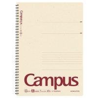 コクヨ キャンパス 再生紙ツインリングノート A4 A罫 40枚 1冊