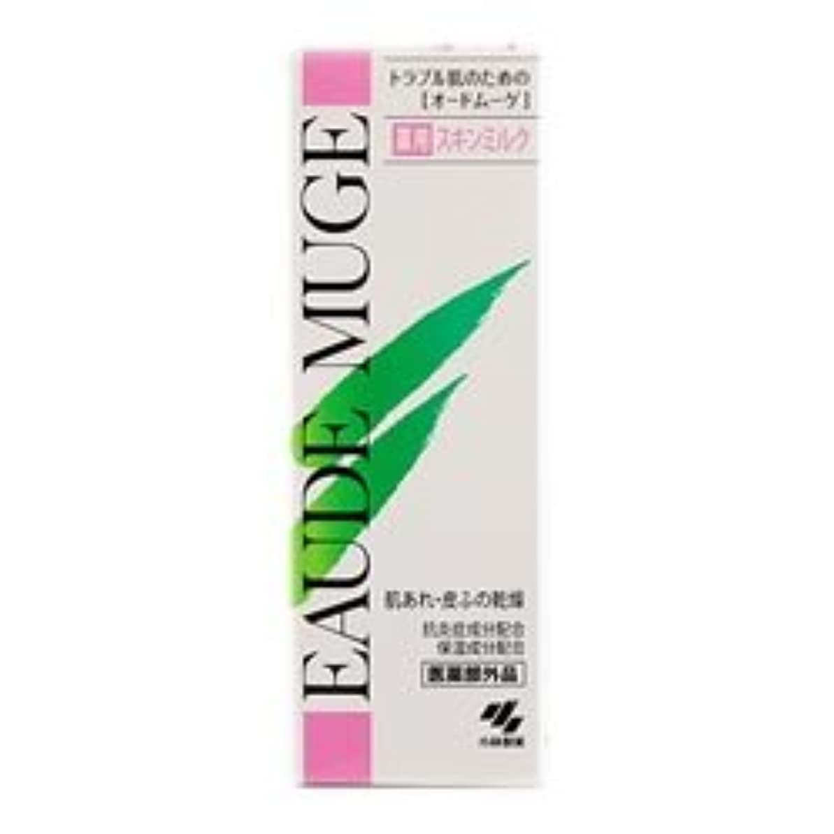 全体にメトリック発明【小林製薬】オードムーゲ薬用スキンミルク 100g ×3個セット