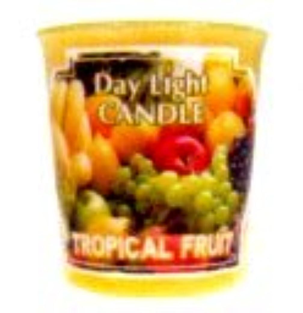 規制するどういたしまして味デイライトキャンドル トロピカルフルーツ OC-DLC-34