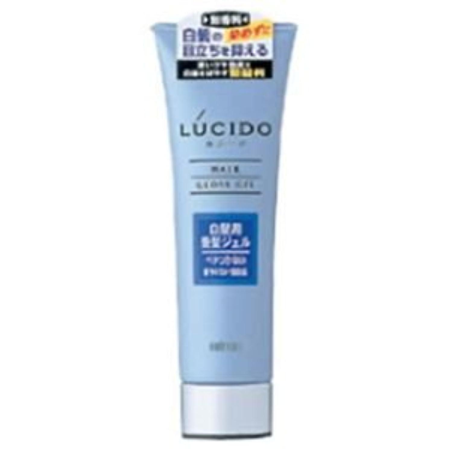 満員充電謙虚なルシード 白髪用整髪ジェル 130g 5セット