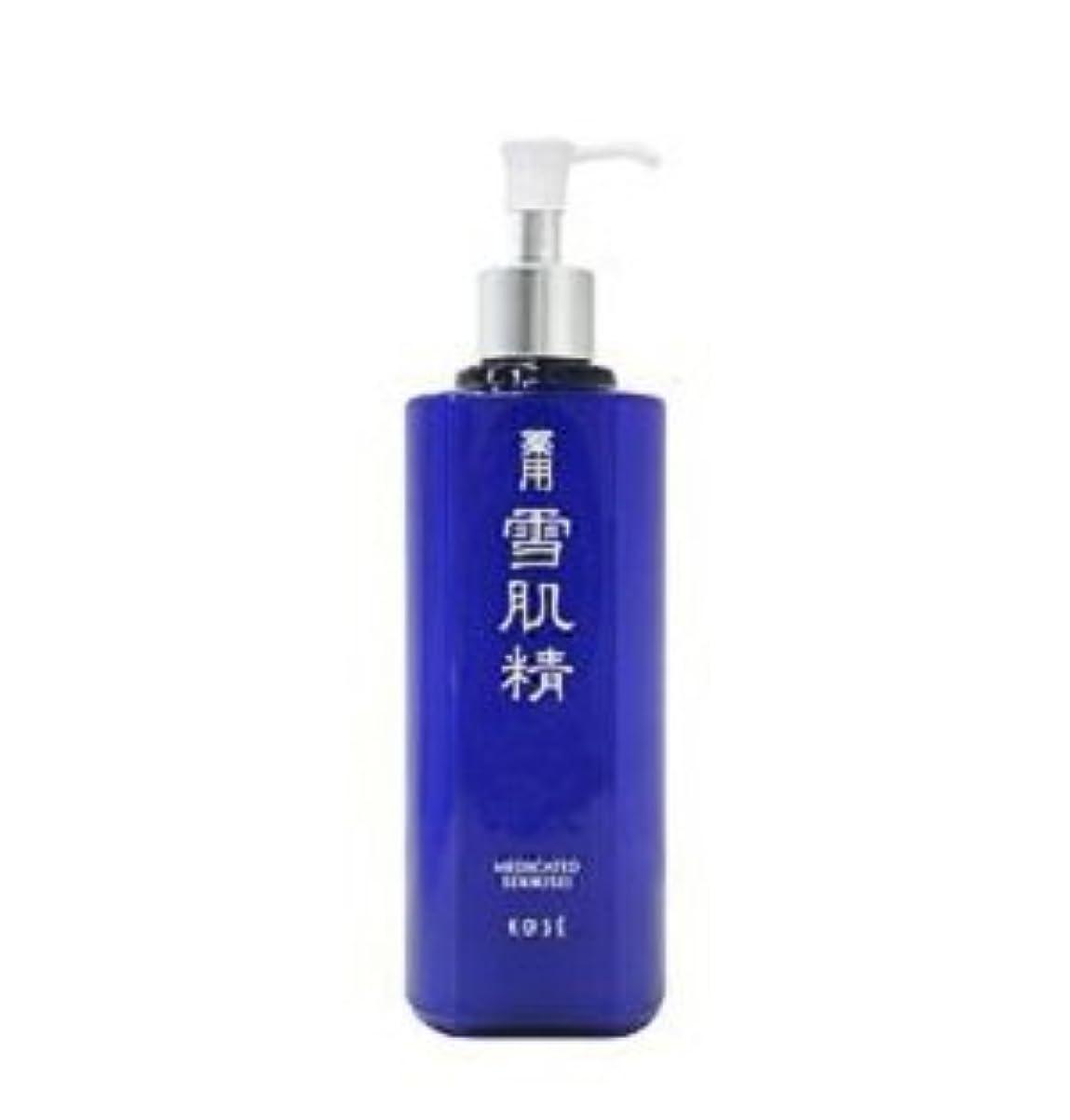 瞑想する頑固なローンコーセー 薬用 雪肌精 化粧水 500ml 限定発売 ラージ ボトル