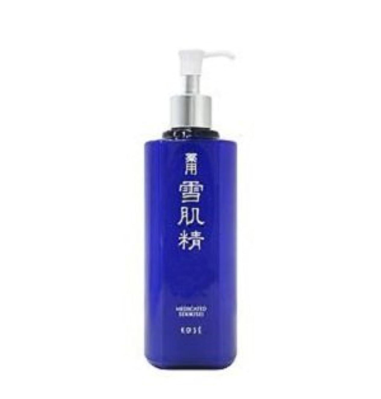 潜在的な排除する添加剤コーセー 薬用 雪肌精 化粧水 500ml 限定発売 ラージ ボトル
