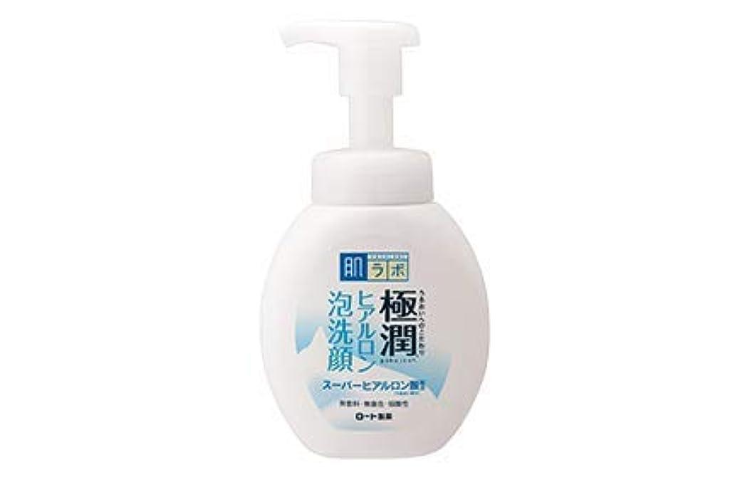 固体気をつけて満足させるHADA LABO スーパーヒアルロン酸フォーム羽田LABO 160 mLで洗浄し