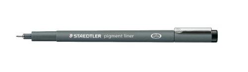 ステッドラー ピグメントライナー 0.3mm 黒 308 03−9 1セット(10本)