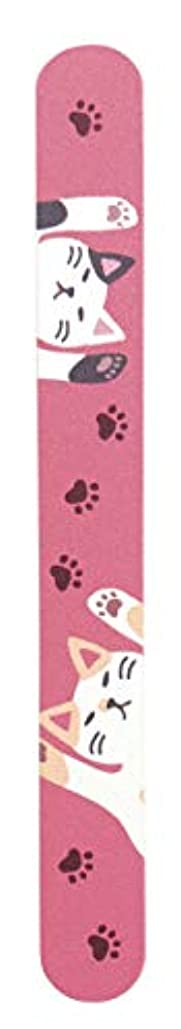 何十人も提出する著名なチェコガラス 爪やすり (のび猫)