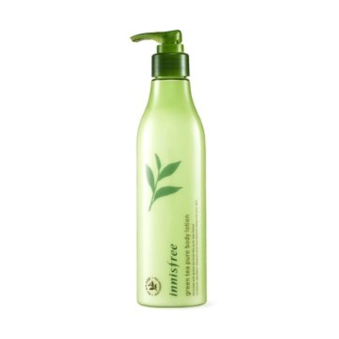 発症処分した箱【イニスフリー】Innisfree green tea pure body lotion - 300ml (韓国直送品) (SHOPPINGINSTAGRAM)