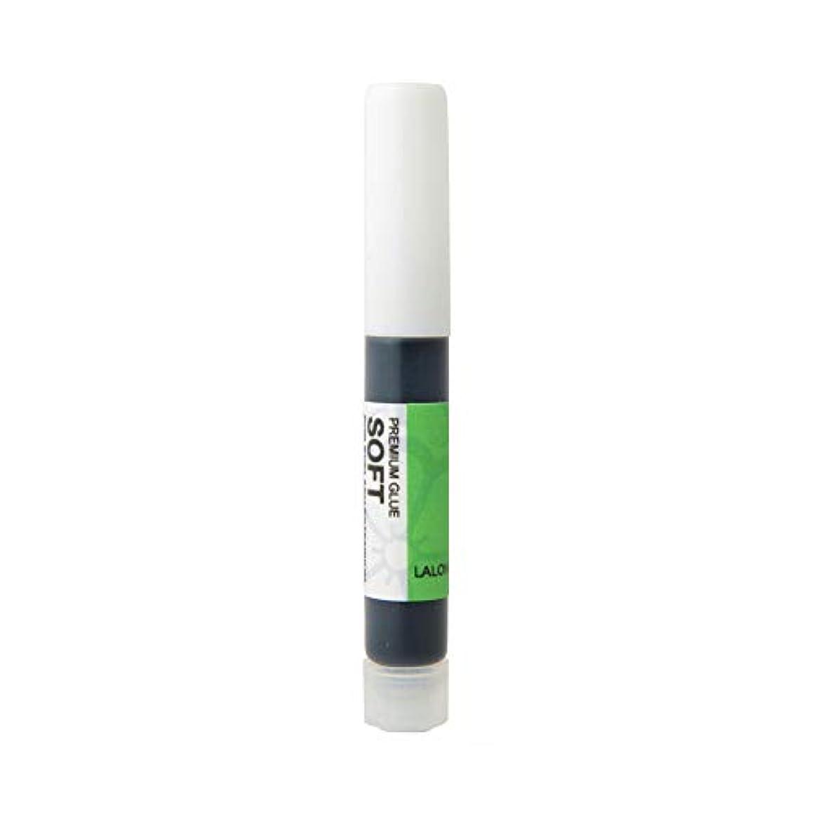 実用的蒸発するエキスパートまつげエクステ《目に沁みない低刺激グルー》LALONA プレミアムグルーソフト (2g)
