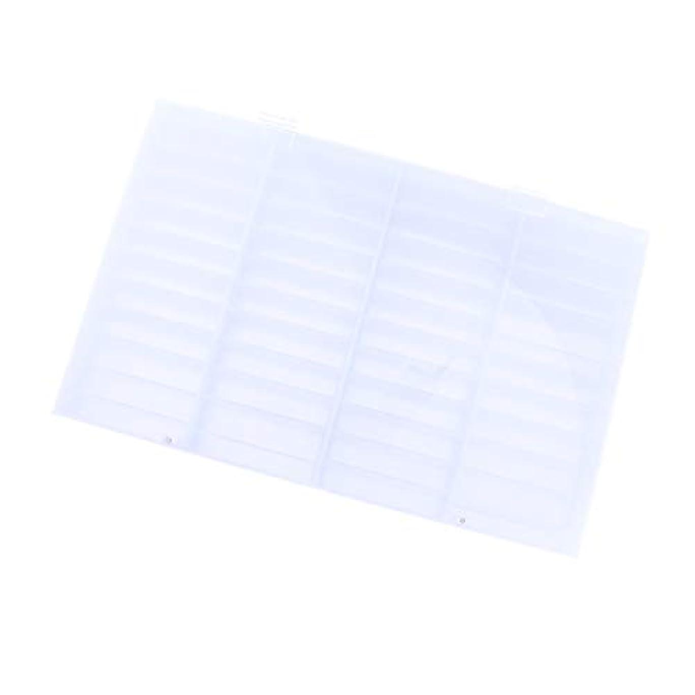 しみラメ上下するIPOTCH ネイルチップ収納ボックス 44コンパートメント 小物入り 収納容器 ディスプレイケース