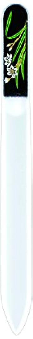 スタッフ出版温室橋本漆芸 ブラジェク製高級爪ヤスリ 一月 水仙 OPP
