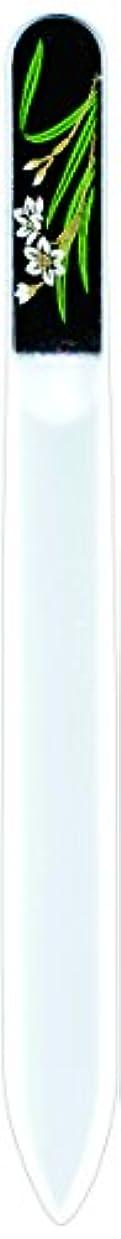 マッシュビデオために橋本漆芸 ブラジェク製高級爪ヤスリ 一月 水仙 OPP