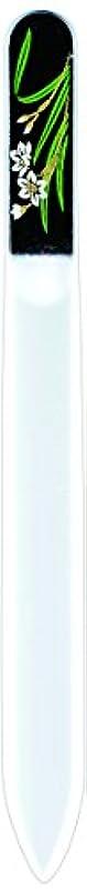 見る人余計なモノグラフ橋本漆芸 ブラジェク製高級爪ヤスリ 一月 水仙 OPP