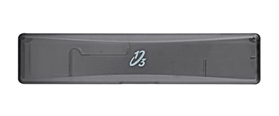 バレルラケットワゴン歯ブラシ携帯ケース ワンサード ヘッド交換式歯ブラシ専用 ブラック