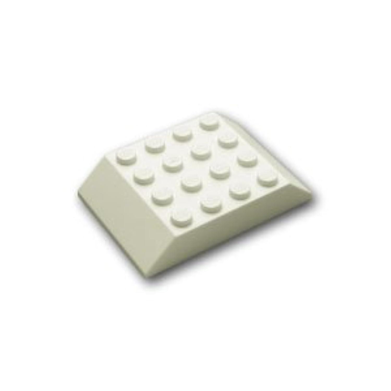レゴブロックパーツ スロープ ブロック 6 x 4 / 45°:[White / ホワイト]【並行輸入品】