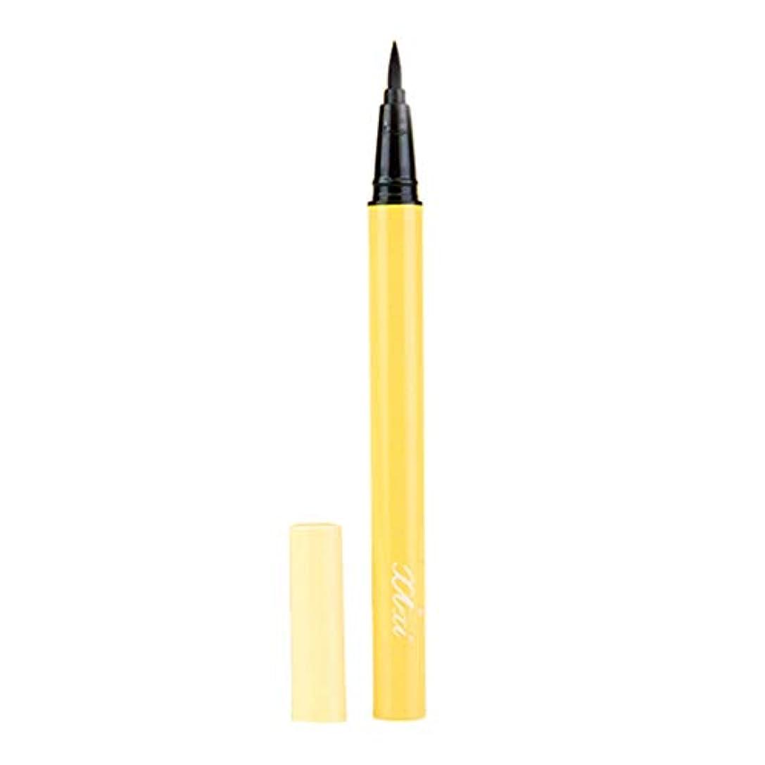 抵抗もっとうぬぼれた防水美容化粧品アイライナーペンシルブラックリキッドアイライナーペン